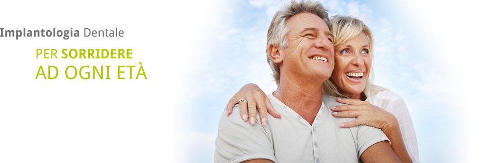 Implantologia Dentale PER SORRIDERE AD OGNI ETÀ
